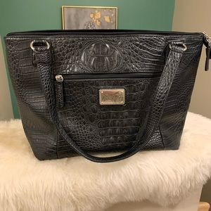 MARC FISHER Gator Embossed Purse